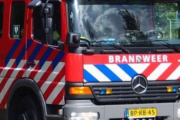 Brand bij Bavaria