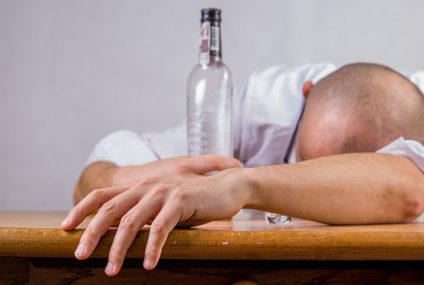 Iets te stevige wodka