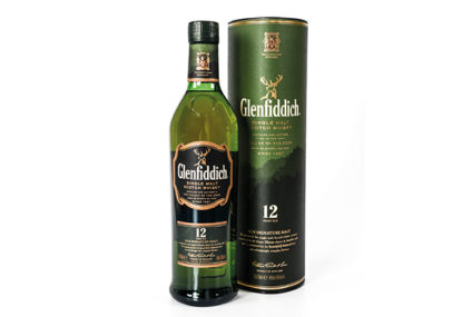 Glenfiddich Single Malt Scotch Whisky, 12 years old, 40% alc.