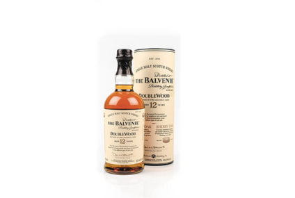 The Balvenie, DoubleWood, aged 12 years, Single Malt Scotch Whisky, 40% alc.