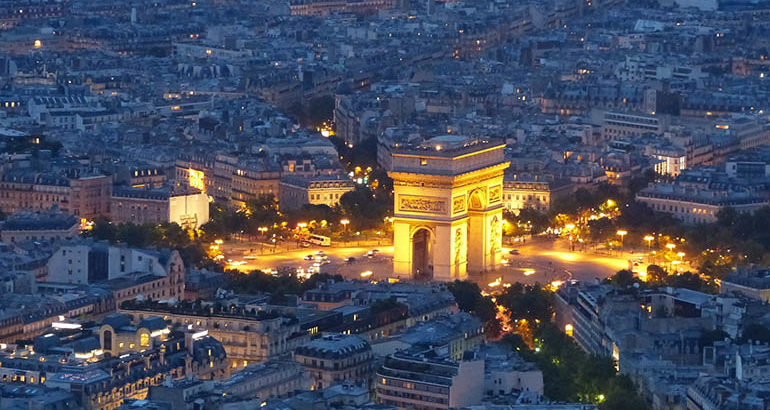 Whisky-roof in hartje Parijs