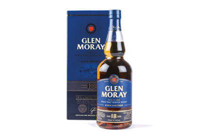 Glen Moray, Speyside, Elgin Heritage, Single Malt Scotch Whisky, 18 Years Old, 47,2% alc.