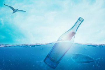 Bijzondere flessenpost