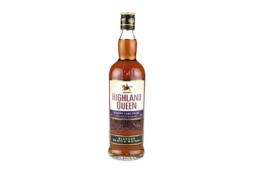 Highland Queen, Sherry Cask Finish, Blended Scotch Whisky, 40% alc.