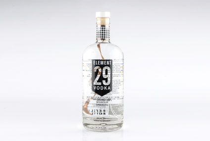 Element 29 Vodka, 40% alc.