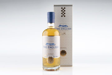 The English Single Malt Whisky, Smokey, 43% alc.