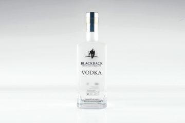 Blackback, Mountain Strength, Vodka, Gorilla Spirits Co., 46% alc.