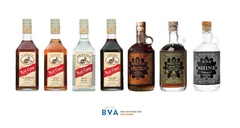 Online veiling grote collectie sterke drank te Helmond