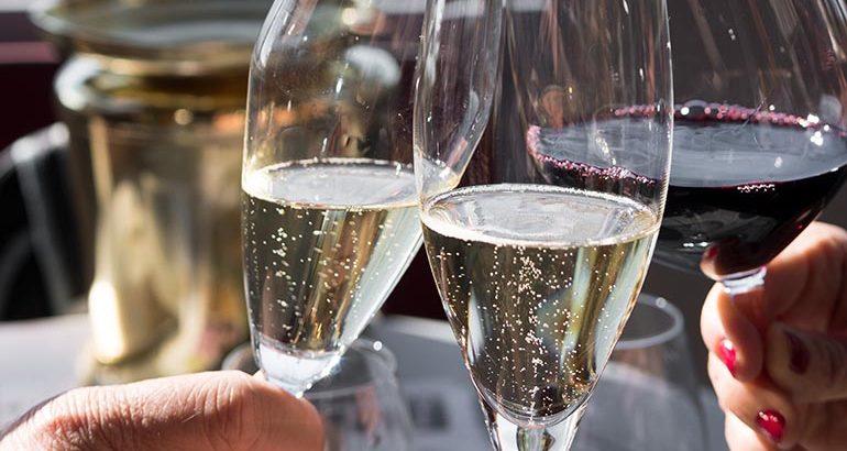 Duurdere champagnes in trek